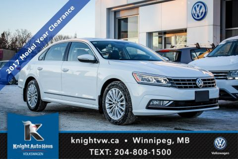 New 2017 Volkswagen Passat Comfortline 1.8 Turbo w/ Navigation/Sunroof/Backup Camera