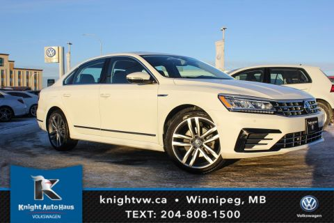 Certified Pre-Owned 2017 Volkswagen Passat Highline R line w/Drive Assist/Nav 0.9% Financing Available OAC.