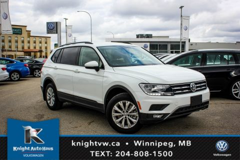 New 2018 Volkswagen Tiguan Trendline AWD w/ Third Row Pkg/App Connect/Backup Camera