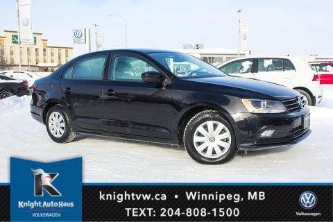 Certified Pre-Owned 2017 Volkswagen Jetta Sedan Trendline+ w/App Connect 0.9% Financing Available OAC.