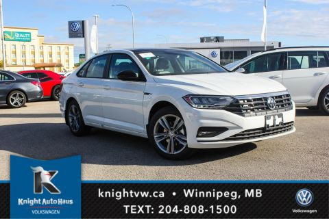 New 2019 Volkswagen Jetta Highline R Line w/ App Connect/Backup Cam/2 Tone Seat