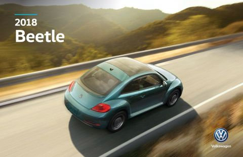 New 2018 Volkswagen Beetle Trendline w/ Convenience Package