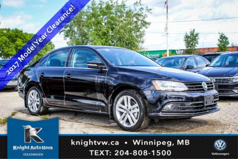 New 2017 Volkswagen Jetta Sedan Highline w/ Leather 0.9% Financing Avail. OAC