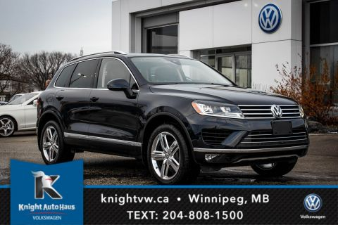 2017 Volkswagen Touareg Execline w/ Leather/Sunroof/Nav/Backup Cam