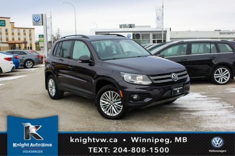 Certified Pre-Owned 2016 Volkswagen Tiguan Special Edition AWD w/Sunroof/App Connect