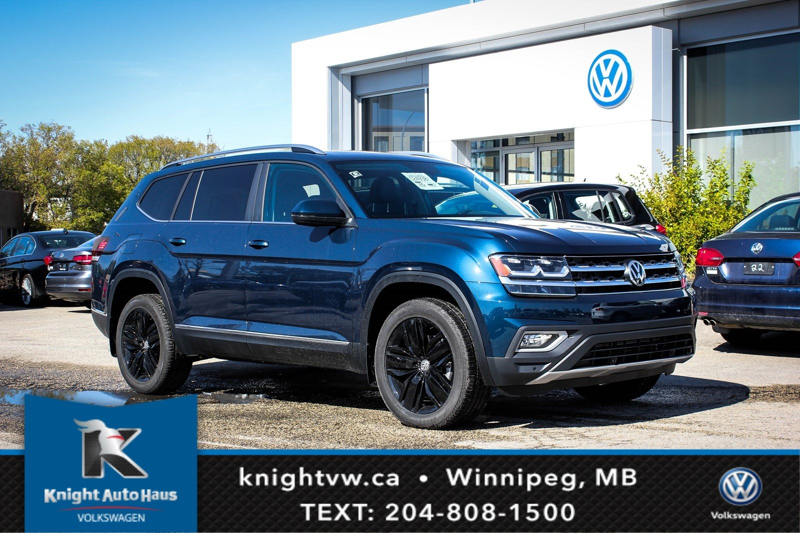 2018 Volkswagen Atlas Highline W Nav App Connect Backup
