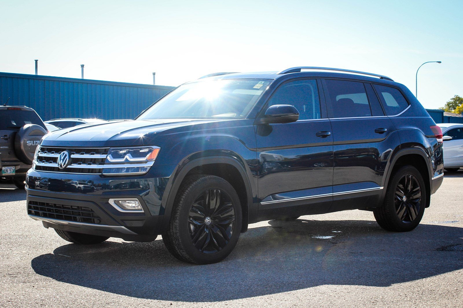 2018 volkswagen atlas highline w nav app connect backup for For sale on line