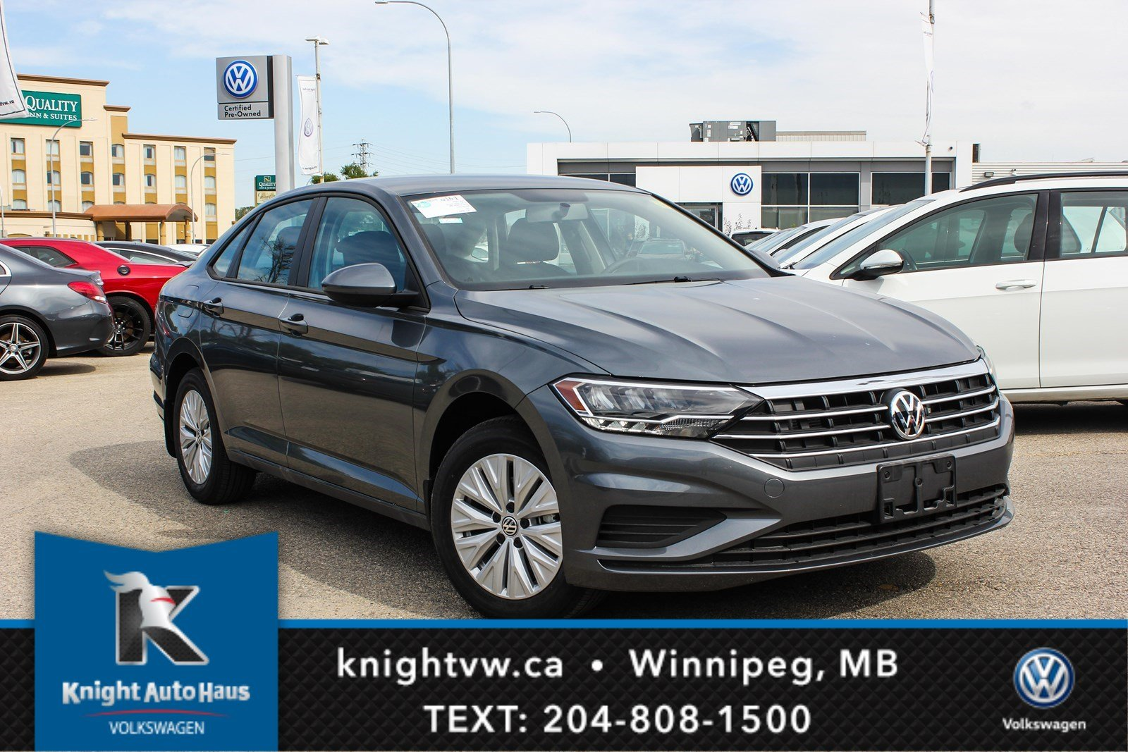 New 2019 Volkswagen Jetta Comfortline w/ App Connect/Backup Camera/Bluetooth/Heated Seats