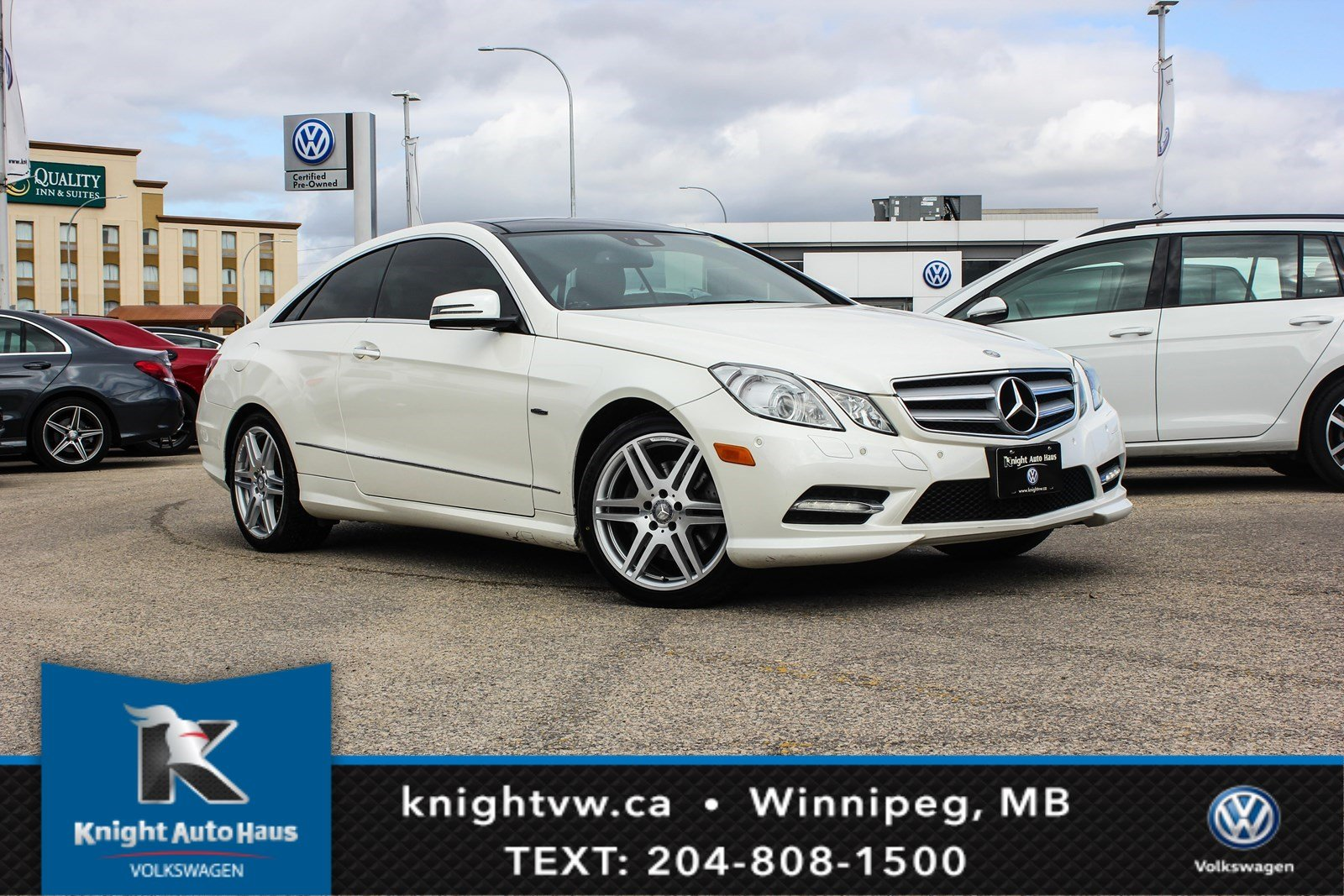 Pre Owned 2012 Mercedes Benz E350 COUPE W/ Drive Assist/ AMG PKG