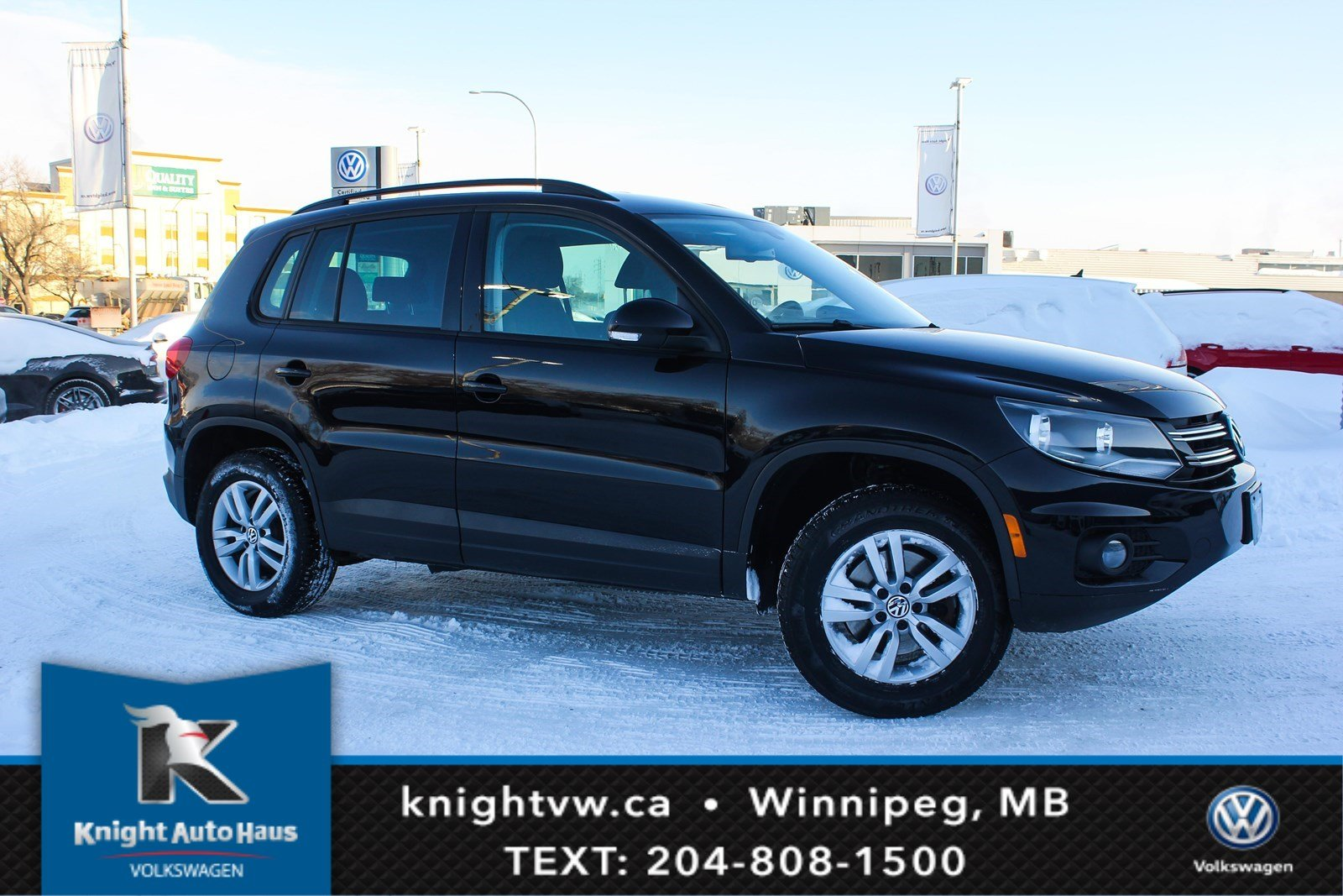 Certified Pre-Owned 2016 Volkswagen Tiguan Trendline w/Heated Seats 0.9% Financing Available OAC.